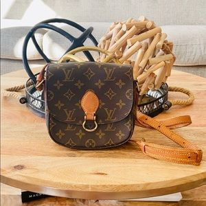 Authentic Mini Louis Vuitton Saint Cloud Crossbody